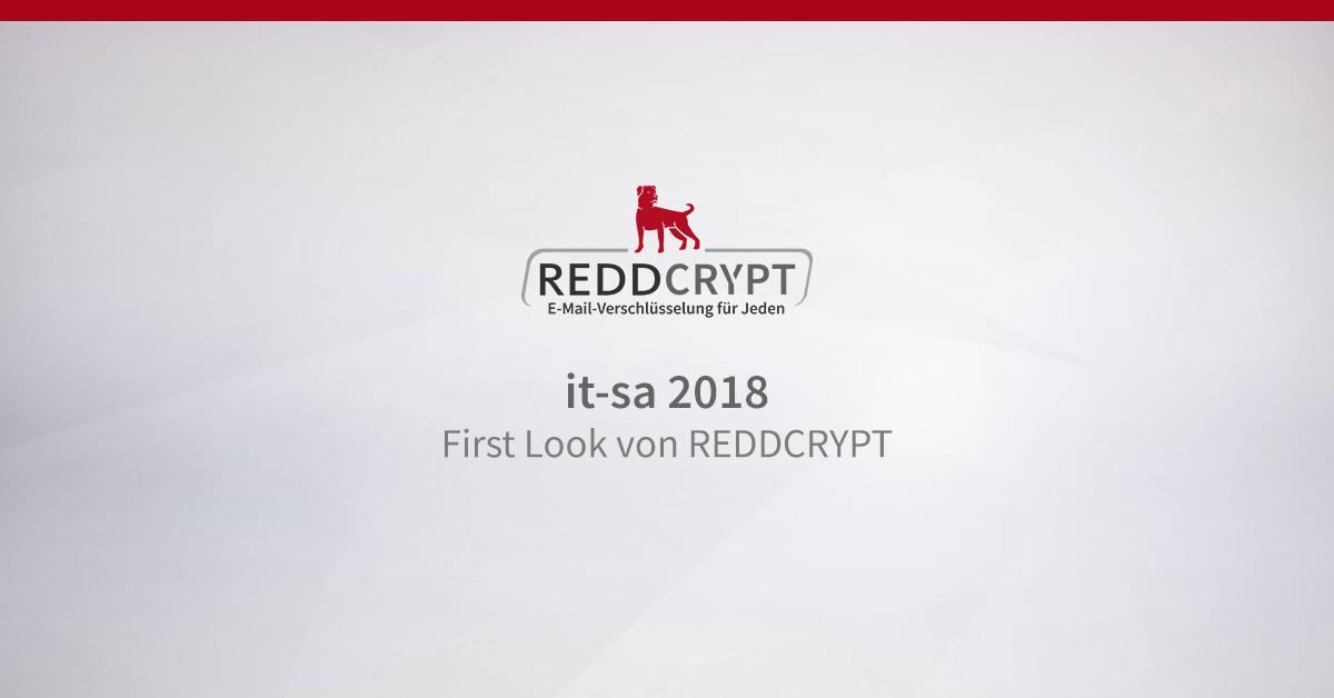 First Look von REDDCRYPT auf der it-sa 2018