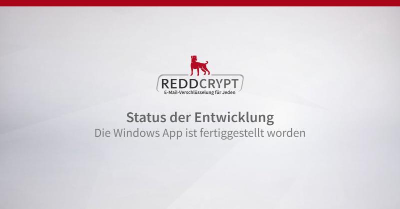 Die Windows App ist fertiggestellt worden
