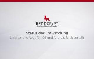 Smartphone Apps für iOS und Android sind fertiggestellt