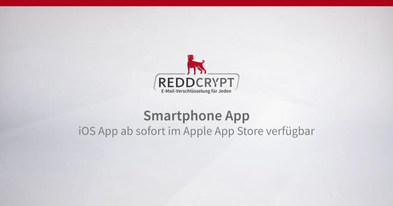 iOS App von REDDCRYPT ab sofort im App Store von Apple verfügbar