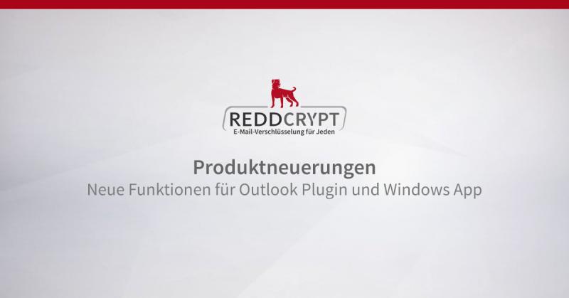 Updates für Outlook Plugin und Windows App