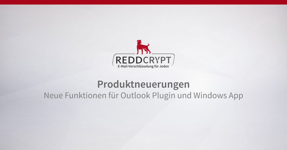 Updates für Outlook Plugin und Windows App